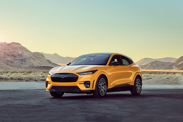 Winner, Sustainable Product – Vehicle: Ford Motor Company, 2021 Ford Mustang Mach-E emits zero CO2 while driving and has a 100 percent vegan interior.