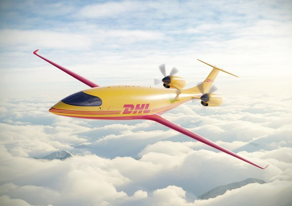 DHL Express shapes future for sustainable aviation with the order of first-ever all-electric cargo planes from Eviation