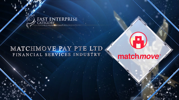 MatchMove Pay Pte Ltd was honoured for Fast Enterprise Award at the recently concluded Asia Pacific Enterprise Awards 2021 Regional Edition