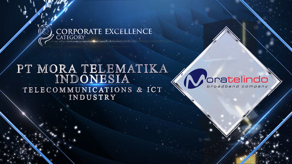 PT Mora Telematika Indonesia was honoured for Corporate Excellence Award at the recently concluded Asia Pacific Enterprise Awards 2021 Regional Edition