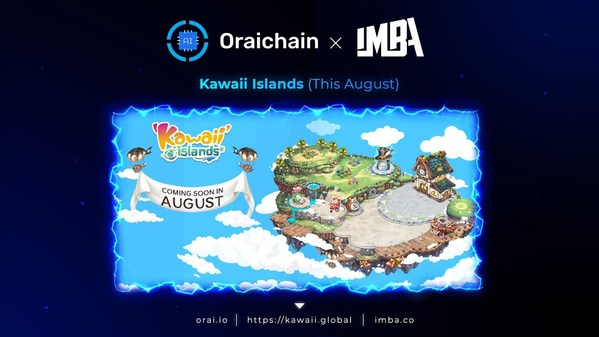 Oraichain x Imba brings a new simulation game Kawaii Islands to life with advanced blockchain and innovative AI technologies. Available this August.