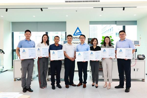 TUV莱茵学院为京师律所首批欧盟数据保护官培训学员颁发认证证书