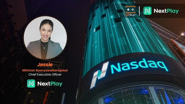 """HotPlay announces the completion of a merger with Monaker Group as it begins trading on NASDAQ under the name """"NextPlay"""" (NXTP)"""