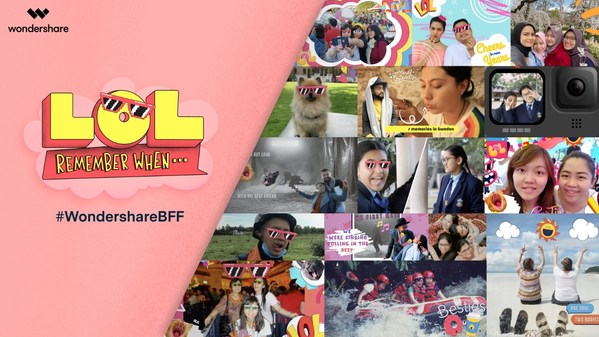 #WondershareBFF Campaign Invited All Creators to Share Their Friendship Moments on Social Media