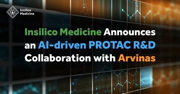 AI赋能PROTAC研发,英矽智能与Arvinas达成合作