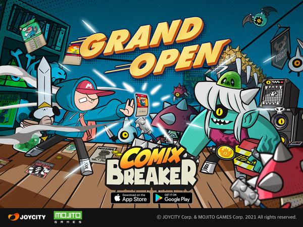 タイムアタック・カードRPG「Comix Breaker」配信開始