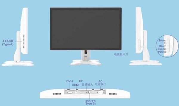 提供各种视频信号与扩充接口,提升设备整合能力