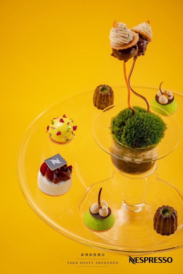 清新夏日甜品盤