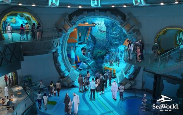 SeaWorld_Abu_Dhabi_Aquarium_Observation_Deck