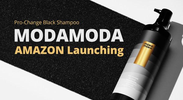 Moda Moda Pro-change Black Shampoo launch on Amazon