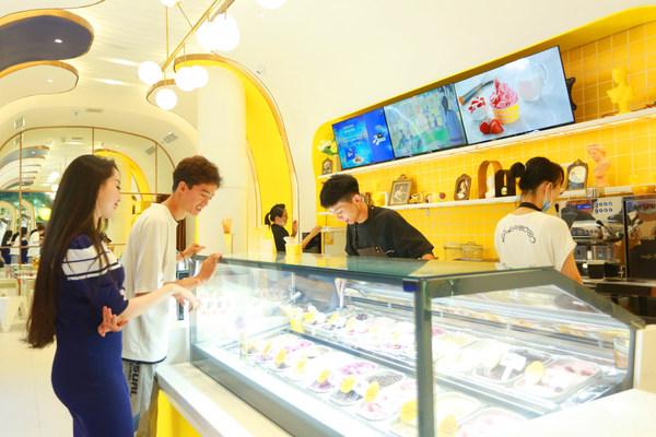 雀巢在哈爾濱隆重開設意式甜品店