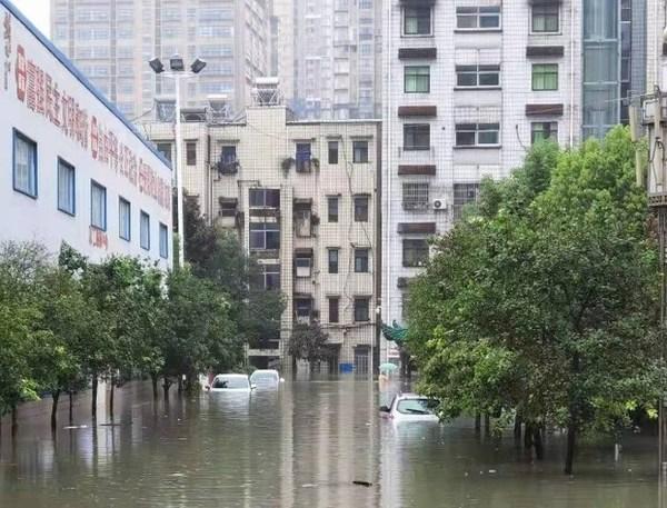 大家保险积极应对湖北多地暴雨