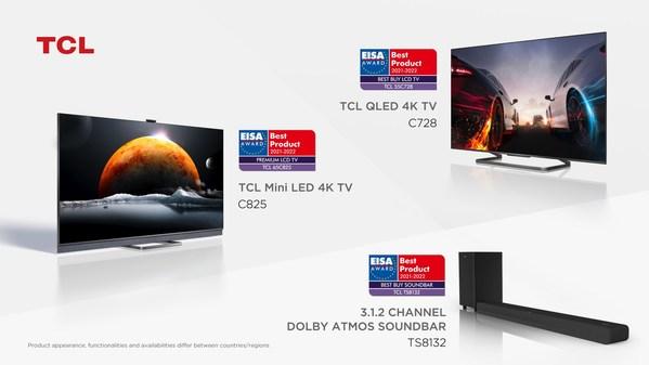 TCLがEISAアワード2021-2022で、同社初となるPremium LCD TVアワードなど3つの賞を受賞