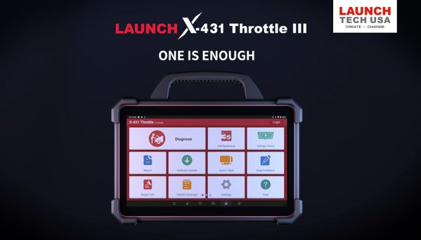 LAUNCH X-431 Throttle III Slated for Mid-August Release in the United States