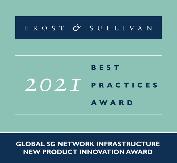 2021 Global 5G Network Infrastructure New Product Innovation Award