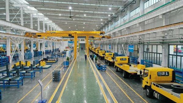 XCMG's Intelligent Manufacturing Base for Urban Operation-Specific Vehicles Completed and Production Commences
