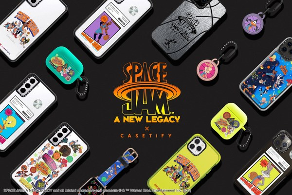 """CASETiFY Invites Fans to Join the Tune Squad with New """"Space Jam: A New Legacy"""" Collection"""