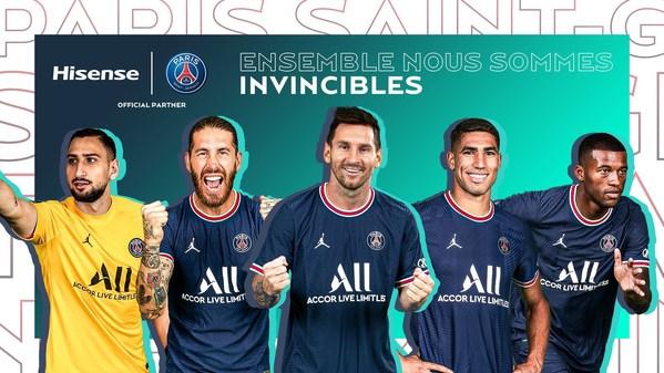 Hisense thổi lửa cho tham vọng của Paris Saint-Germain trong năm quan hệ đối tác thứ hai
