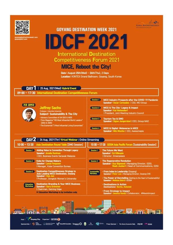 Lời mời tham dự Diễn đàn Năng lực Cạnh tranh cho Điểm đến du lịch Toàn cầu 2021: Sự kiện MICE kết hợp được tổ chức tại thành phố Goyang, Hàn Quốc