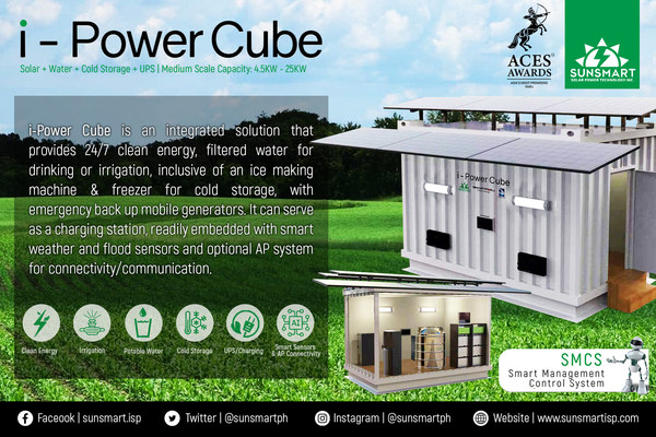 SunSmart Integrated Solar Power System and Solution