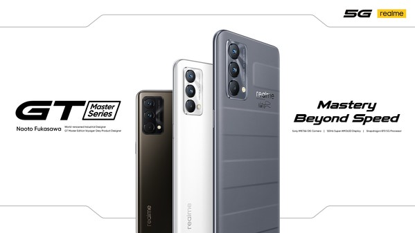 Best-Designed Flagship Killer realme GT Master Edition Series Launch Globally, Together with realme's First Laptop realme Book with 2K Display
