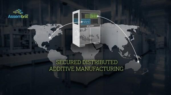 Assembrix, 안전한 대륙 간 분산 적층 제조 시연