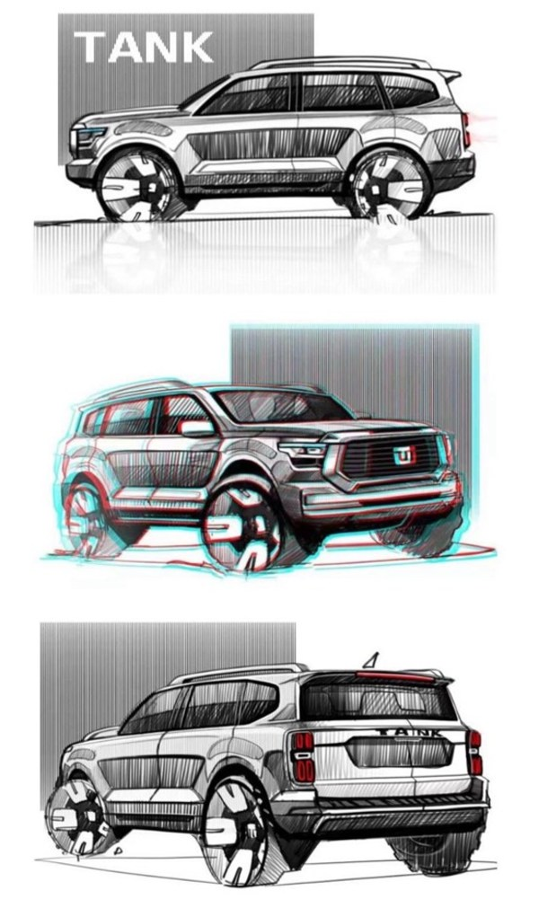 신형 TANK SUV 모델, 3.0T+ 9AT Super Power 장착