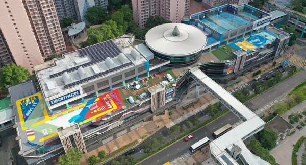 TKO Spot tones up the community with 'TKO Spot-field', Hong Kong's largest rooftop sports space, where mall goers can try their hand at a variety of sports.
