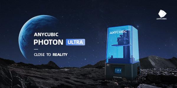 Anycubicの新しいDLP 3Dプリンター「Anycubic Photon Ultra」がKickstarterで発売