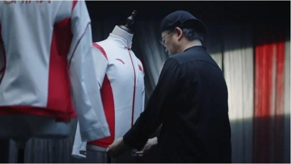 叶锦添先生设计2020年东京奥运会中国体育代表团领奖服