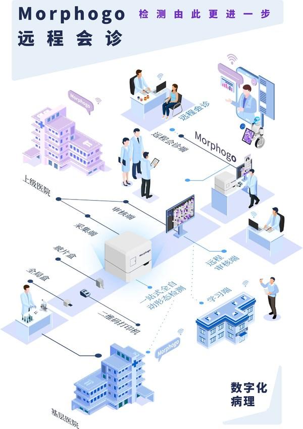 智微信科产品临床应用流程示意图