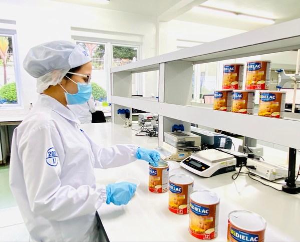 Vinamilk的研发部门对出口产品的成功做出重要贡献