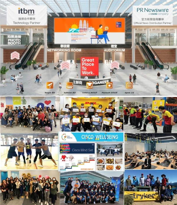 Great Place to Work®releases its Best Workplaces inTaiwan™ 2021 list