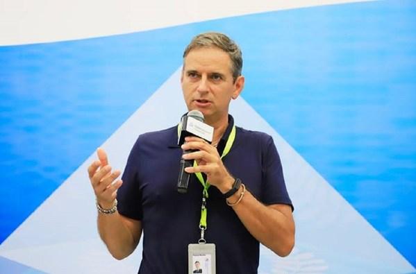 华晨宝马汽车有限公司研发中心副总裁米乐先生(Patrick Mueller)发表致辞