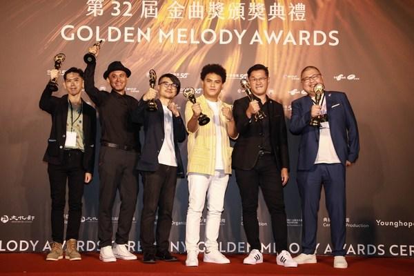 第32届金曲奖年度专辑奖:桑布伊(中)《得力量pulu'em》/photo credit: TTV