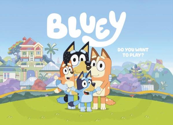 다수의 시상식을 휩쓴 어린이 애니메이션 '블루이', EBS에서 방영