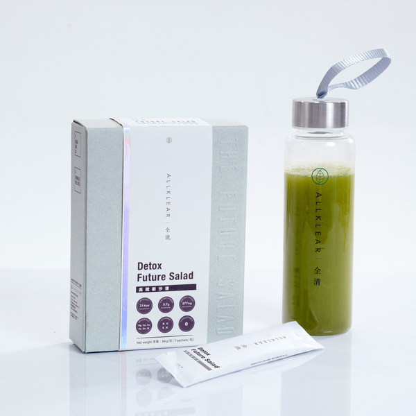 Allklear Detox Future Salad (without water bottle) - Retail Price: HK$280/ 7 Sachets