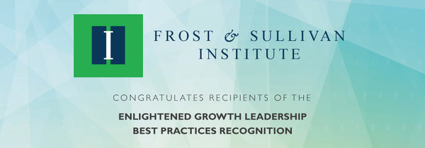 """""""Frost & Sullivan Institute operates with the guiding principles of generosity of spirit, inclusion for all and the alignment of stakeholders. The Companies recognized by this Award embodies these principles and demonstrate an inspirational approach to achieving growth excellence,"""" said David Frigstad, Executive Director, Frost & Sullivan Institute."""