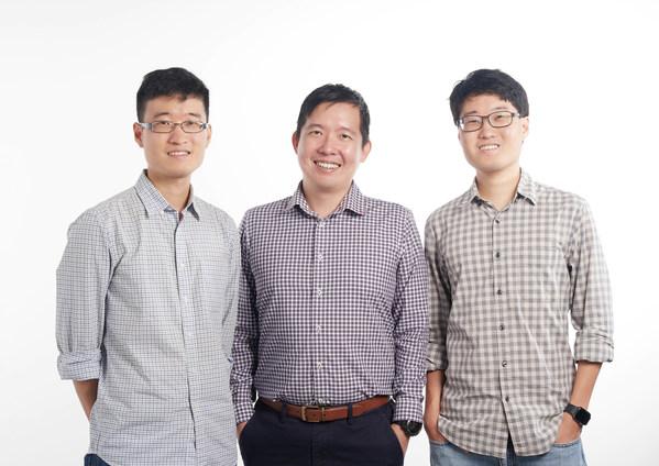 BasisAI Cofounders Linus Lee, Liu Feng-Yuan and Silvanus Lee.