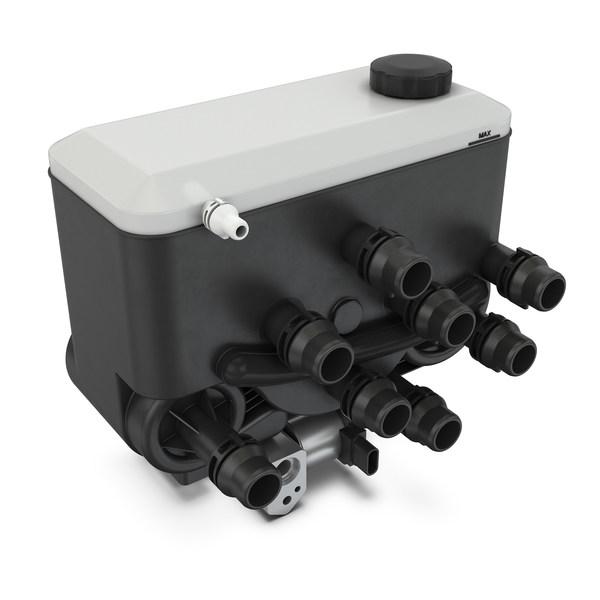 舍弗勒集成式热管理系统所需的安装空间减少了60%