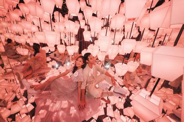 黃大仙中心推出「燈映秋夕」推廣活動,特設巨型花燈互動光影裝置,絕對是打卡必到之處