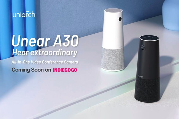 Uniarch Unear A30, the All-in-One Video Conference Camera is about to launch on Indiegogo