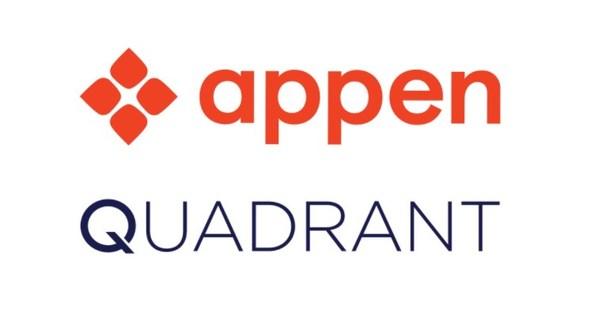 8月26日,澳鹏(Appen Limited)宣布已签署关于收购Quadrant的最终协议