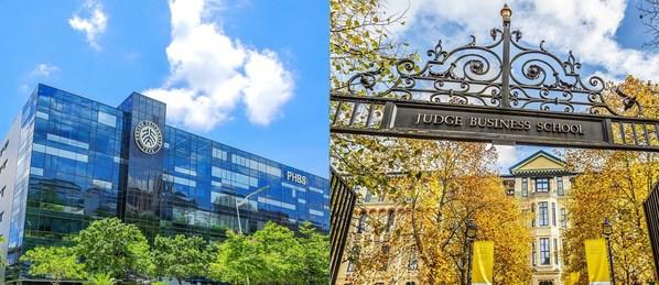 Trường Kinh doanh HSBC của Đại học Bắc Kinh và Trường Kinh doanh Judge của Đại học Cambridge công bố Chương trình Hợp tác nhằm cung cấp các chương trình riêng tại Thâm Quyến, Trung Quốc