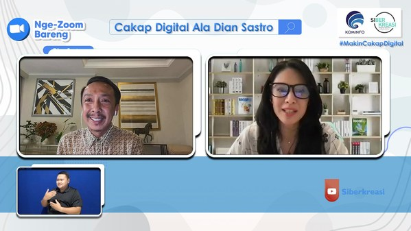 Tackling the Country's Digital Gap, The Indonesia's Ministry of Communications and Informatics Unveils Free Webinar Series