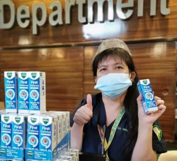 P&G's Vicks First Defence donated to Dr. Jose N. Rodriguez Memorial Hospital and Sanitarium