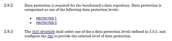 SPC-1测试对存储产品的可靠性要求
