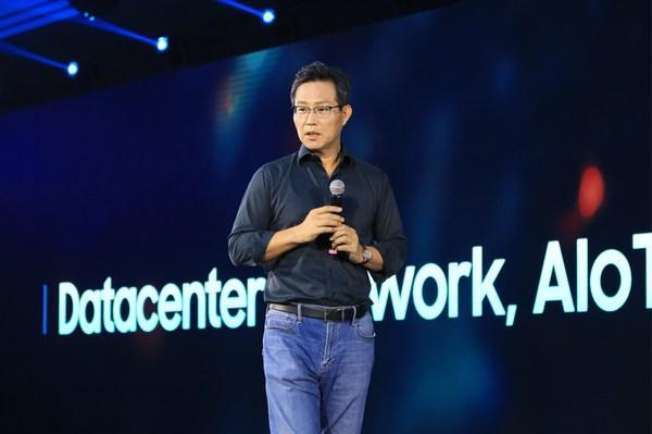 发表开幕主旨致辞的三星半导体董事长杨杰 (1)