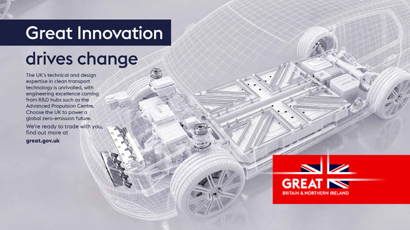 영국, 제8회 국제전기자동차엑스포(IEVE)에서 지속 가능한 친환경 미래 모빌리티 선보여