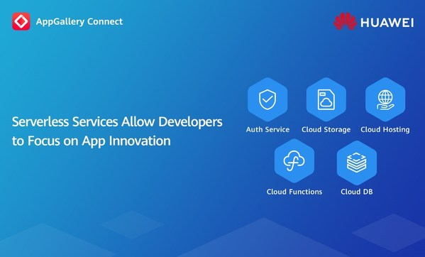 HUAWEI AppGallery Connect Serverless Services Officially Released to Achieve Easy App Development and O&M